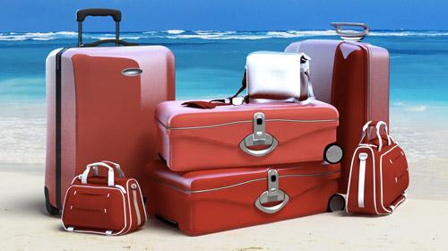 vari tipi di bagagli da viaggio